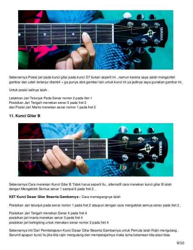Panduan Belajar Kunci Gitar