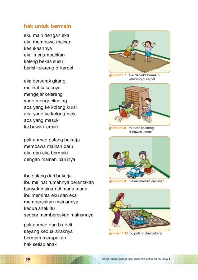 Belajar kewarganegaraan indonesia kelas 1