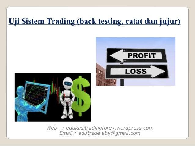 Cara membuat sistem perdagangan forex
