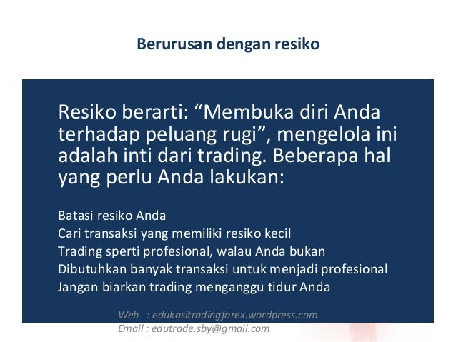 Belajar psikologi trading forex