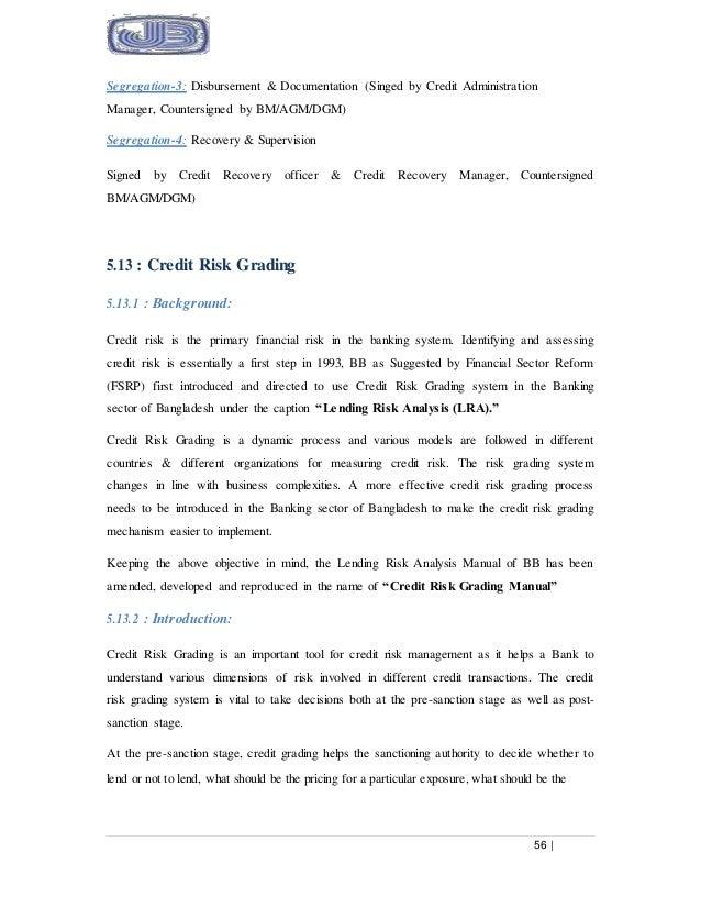 internship report on credit management policy of janata bank rh slideshare net