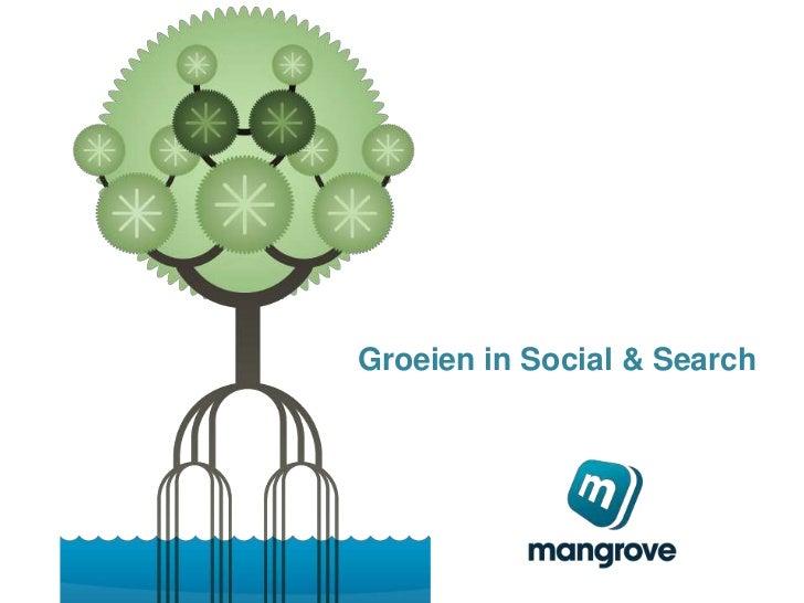 Groeien in Social & Search<br />