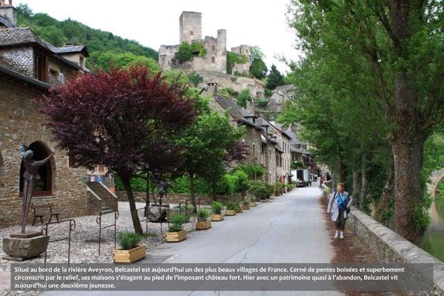 Situé au bord de la rivière Aveyron, Belcastel est aujourdhui un des plus beaux villages de France. Cerné de pentes boisée...
