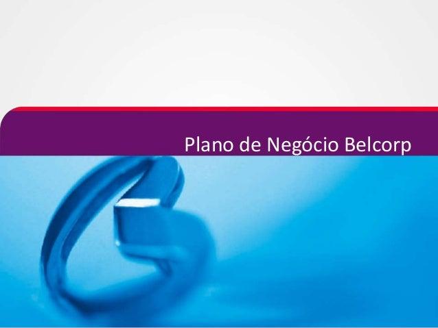 Plano de Negócio Belcorp