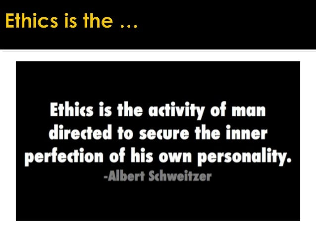 An introduction to business ethics and making choices in a company