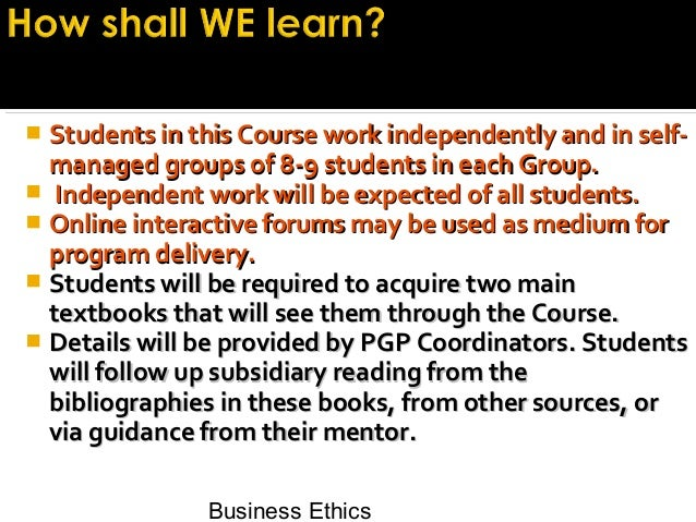 an introduction to business ethics and making choices in a company An article on the importance of business ethics to you, your business for a quick 30-minute introduction to business ethics for everyone when working for a company with strong business ethics.
