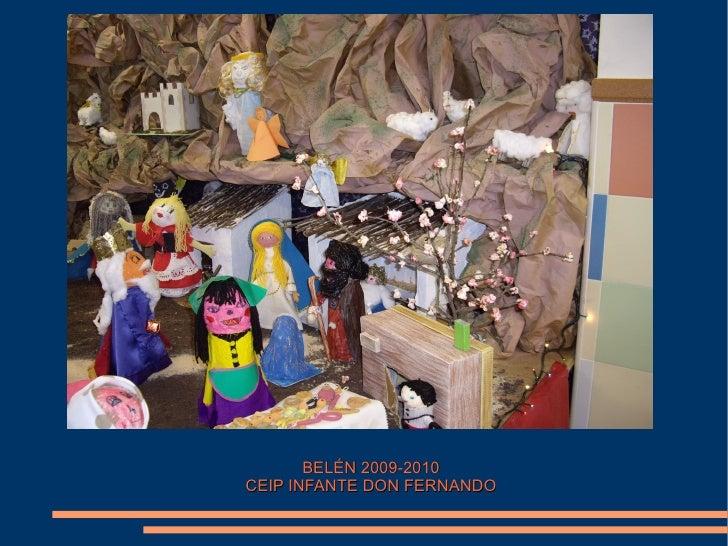 BELÉN 2009-2010 CEIP INFANTE DON FERNANDO