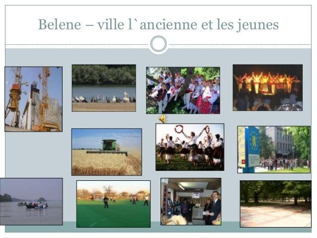 Belene – ville l`ancienne et les jeunes