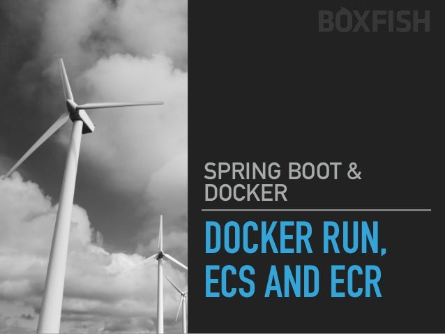 SPRING BOOT & DOCKER DOCKER RUN, ECR, ECS DOCKER IMAGE PUSHED, CHECKED REMOVE LOCAL IMAGE 2 INSTANCES OF THE SAME CONTAINE...