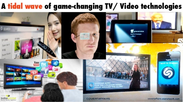 A tidal wave of game-changing TV/ Video technologies