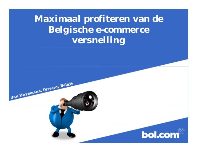 Maximaal profiteren van de  Belgische e-commerce  versnelling