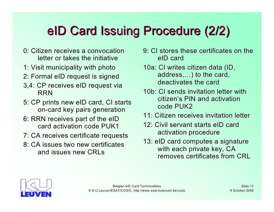 Belgian eid cards technicalities eid stopboris Image collections
