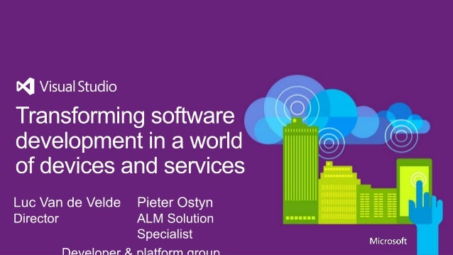 The devices and services transformatio n