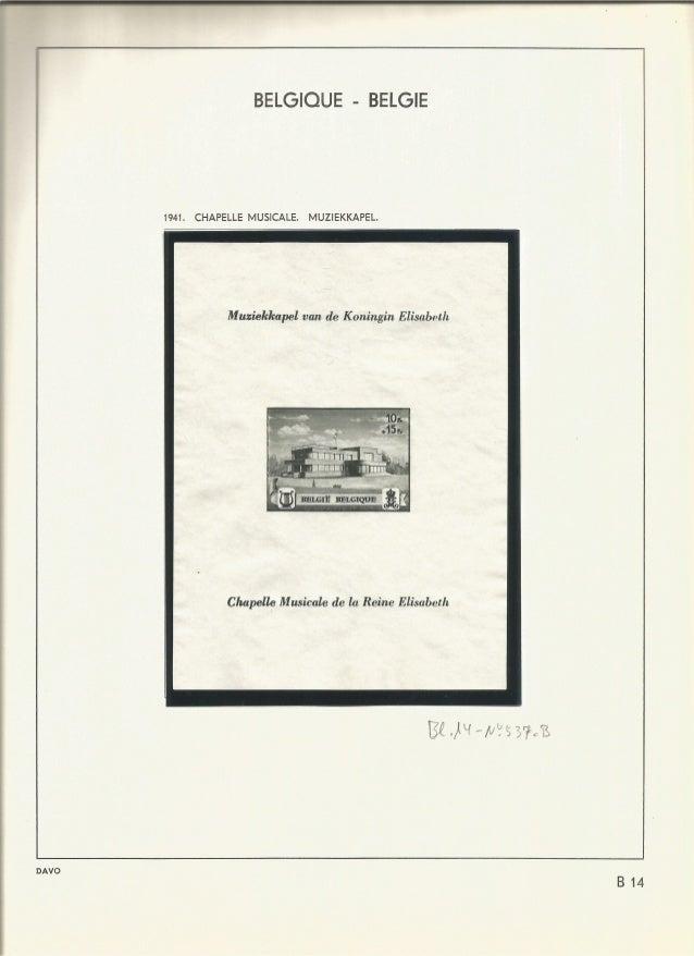 BELGIQUE - BELGIE  _W . ____: _ 4  1941. CHAPELLE MUSICALE.  MUZIEKKAPEL.   M uziekkapel van de Koningin Elisabeth  Chapel...