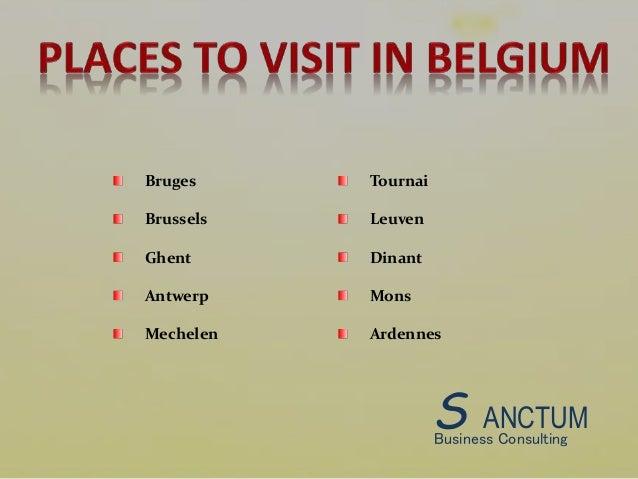 how to get belgium visa