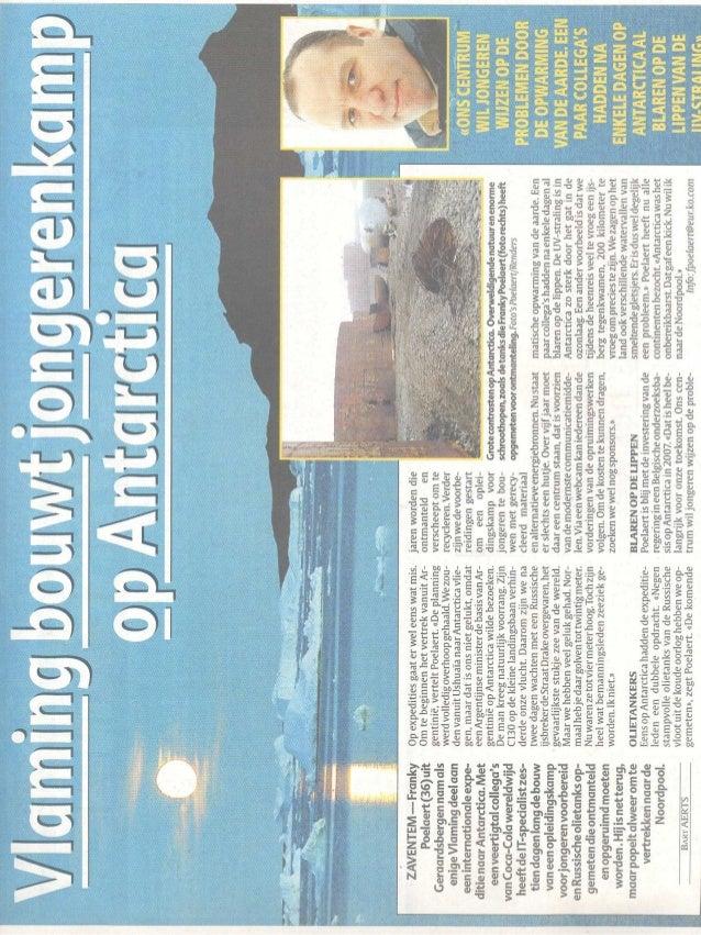 Belgium newspaper article_of_franky_of20feb