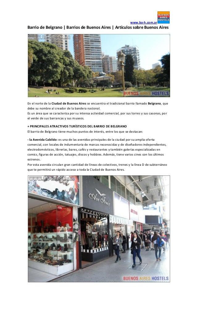 www.ba-h.com.arBarrio de Belgrano | Barrios de Buenos Aires | Artículos sobre Buenos AiresEn el norte de la Ciudad de Buen...