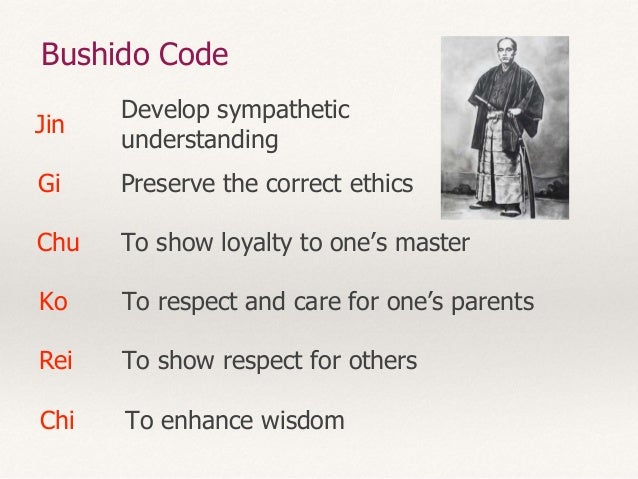 the bushido code essay 26 quotes from bushido: the soul of japan a classic essay on samurai ethics: 'knowledge becomes really such only when it is assimilated in the mind of t.