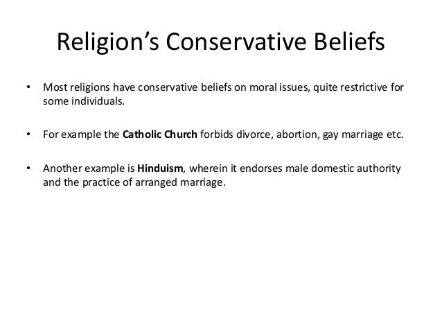 Example of beliefs