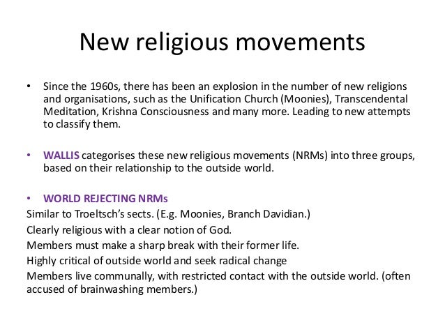New religious movements essay