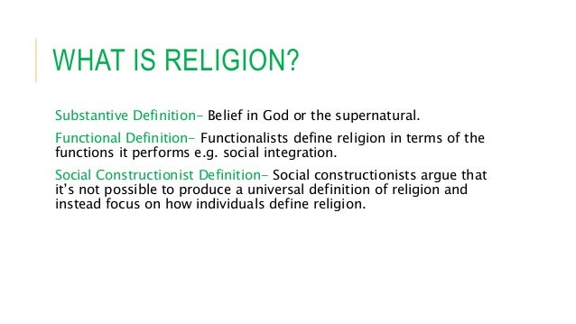 an overview of the definition of religion Evolutionary perspectives on religion: an overview  evolutionary perspectives on religion  the evolutionary theories of religion this multifaceted definition.