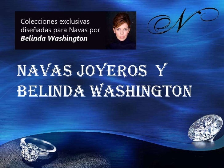 Navas Joyeros yBelinda Washington