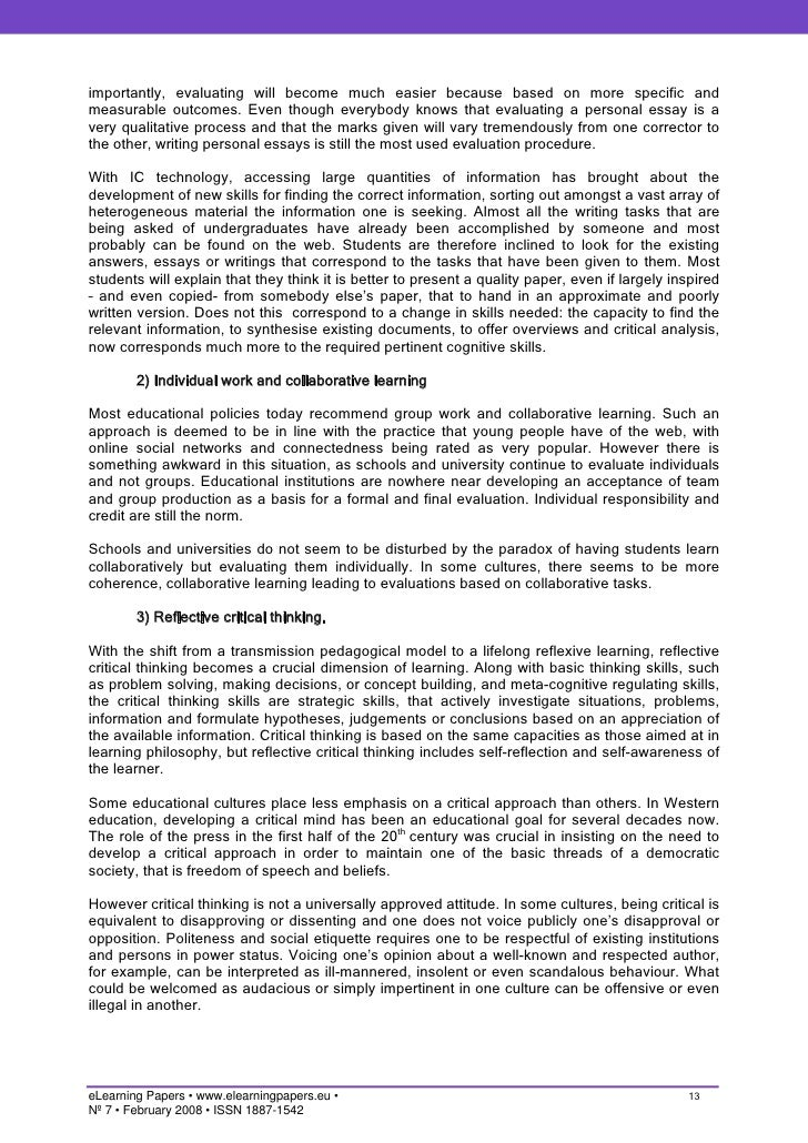 essay approaches learning The terms learning styles and learning strategies would seem to refer to two different aspects of student learning styles are stable ways of approaching tasks that.