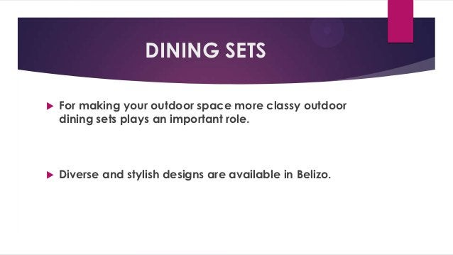 DINING SETS   For making your outdoor space more classy outdoor    dining sets plays an important role.   Diverse and st...