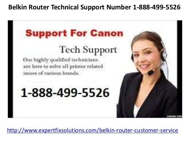Belkin router customer service number 1 888-499-5526