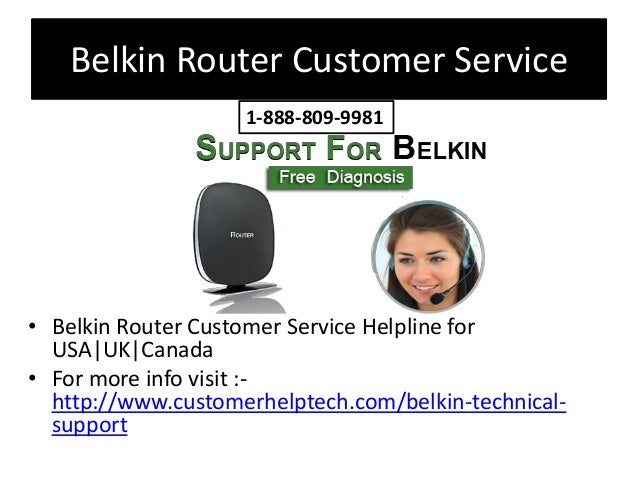 Belkin Router Technical Support Number
