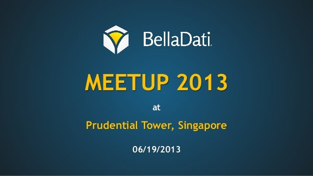 MEETUP 2013atPrudential Tower, Singapore06/19/2013