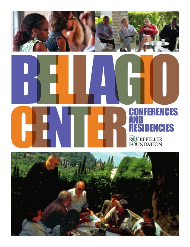 CENTER Conferences and Residencies BELLAGIO