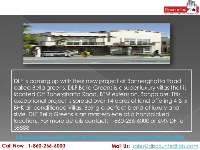 Call Now : 1-860-266-6000 Mail Us: sales@discountedflats.com http://www.discountedflats.com/11854-bella-greens-bannerghatt...