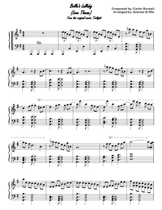 Bella's lullaby -_curter_burwell_ver.2