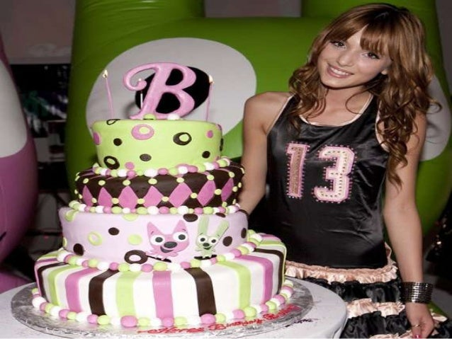 Bella thorne's 13th birthday party