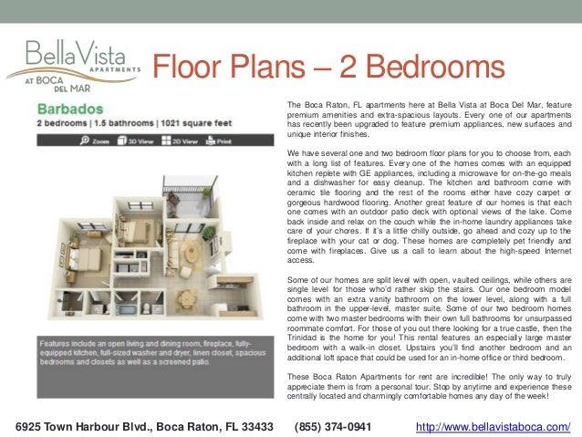 4  6925 Town Harbour Blvd   Boca Raton  FL. Bella Vista Apartments   Boca Raton FL