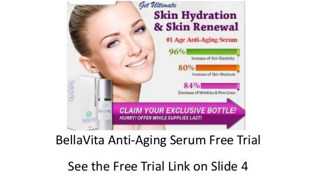 BellaVita Anti-Aging Serum Free Trial