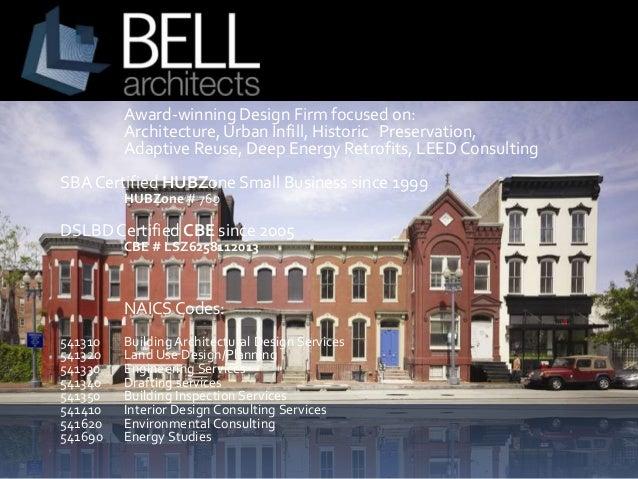 Award-winning Design Firm focused on: Architecture, Urban Infill, Historic Preservation, Adaptive Reuse, Deep Energy Retro...