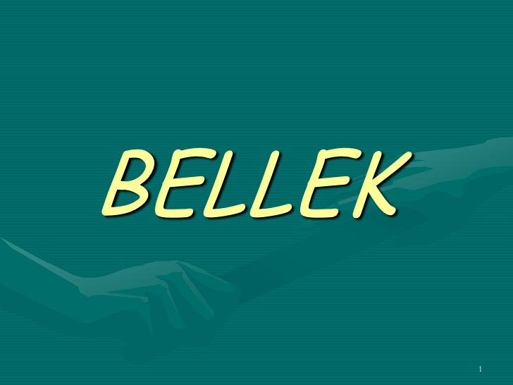 BELLEK         1