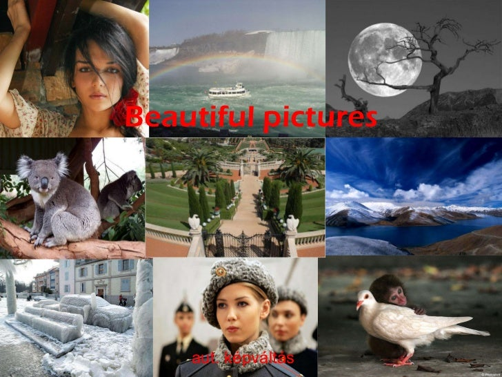 Beautiful pictures aut. képváltás