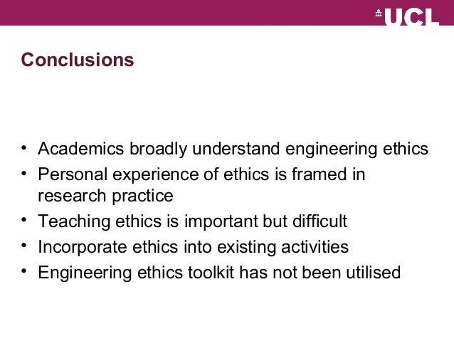 background information and ethics of the engineering profession Features of ethics as a discipline the ethics background summary for students presented in this section provides background information on ethical content.