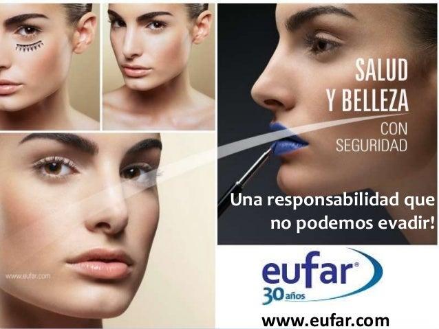 Una responsabilidad que no podemos evadir!  www.eufar.com