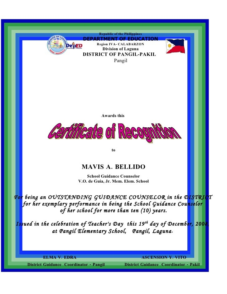 Republic of the Philippines                                DEPARTMENT OF EDUCATION                                       R...