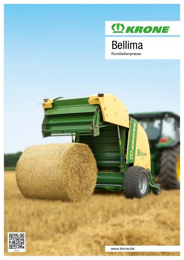Bellima Rundballenpresse www.krone.de