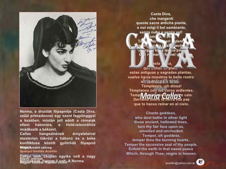 Bellini norma casta diva maria callas - Norma casta diva testo ...