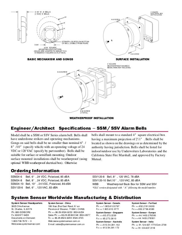 Ssm Bell Wiring Diagram - Find Wiring Diagram •