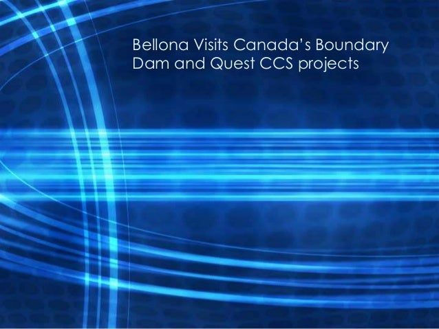 Bellona Visits Canada's BoundaryDam and Quest CCS projects