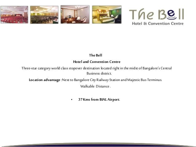 The Bell Hotel and Convention Centre Three-starcategory world class stopover destination located right in the midst of Ban...