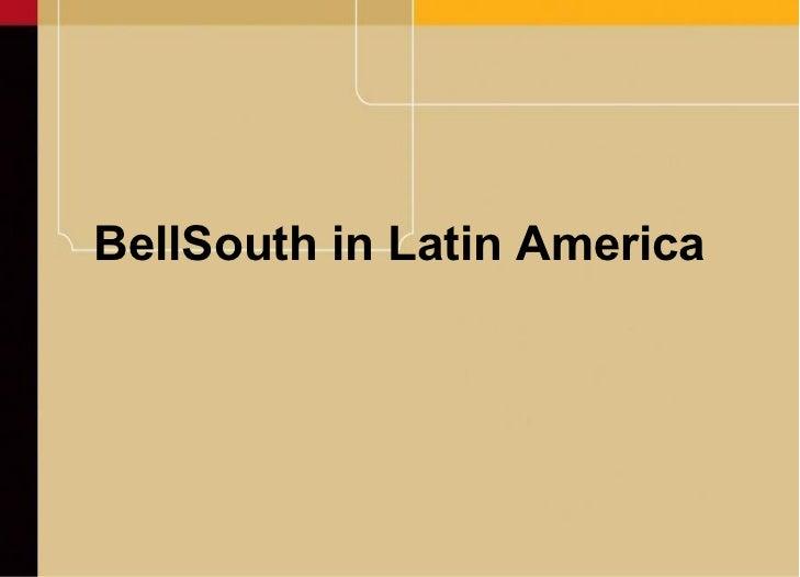 BellSouth in Latin America