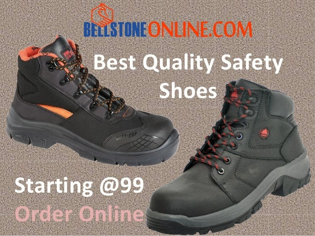 Best Quality Safety Shoes Online at Lowest Price